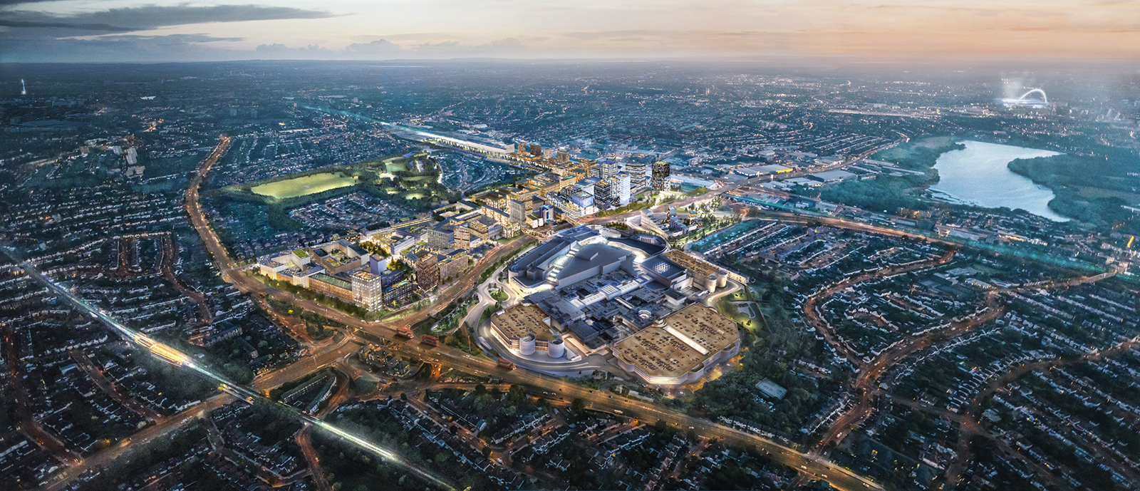 Visualisation of Brent Cross South
